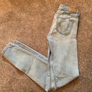 Light denim Hollister jeans